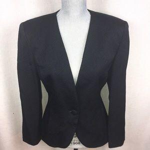Dior Black Vintage Blazer Jacket 8